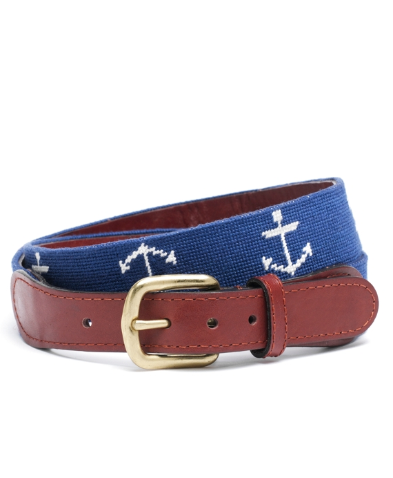 Anchor Needlepoint Belt Multi