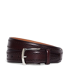 Allen Edmonds Perforated Belt