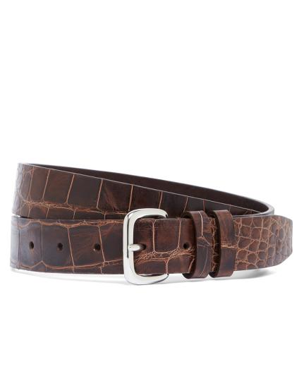 Harrys Of London® Alligator Basel Belt
