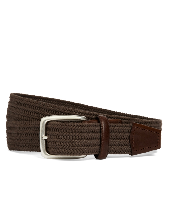 Cotton Woven Belt Light Brown