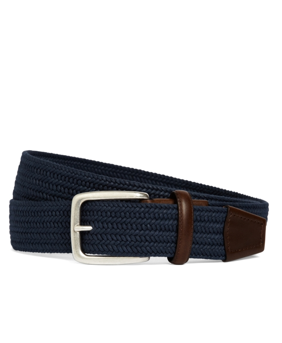 Cotton Woven Belt Navy