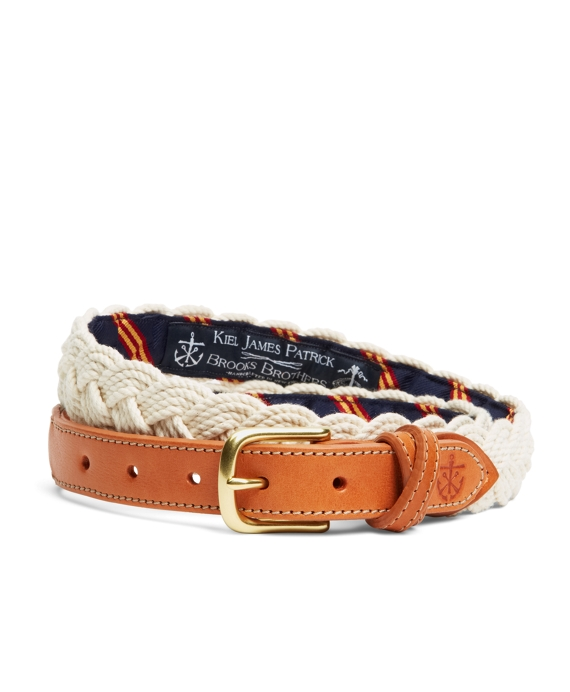 Kiel James Patrick BB#1 Braided Belt Natural