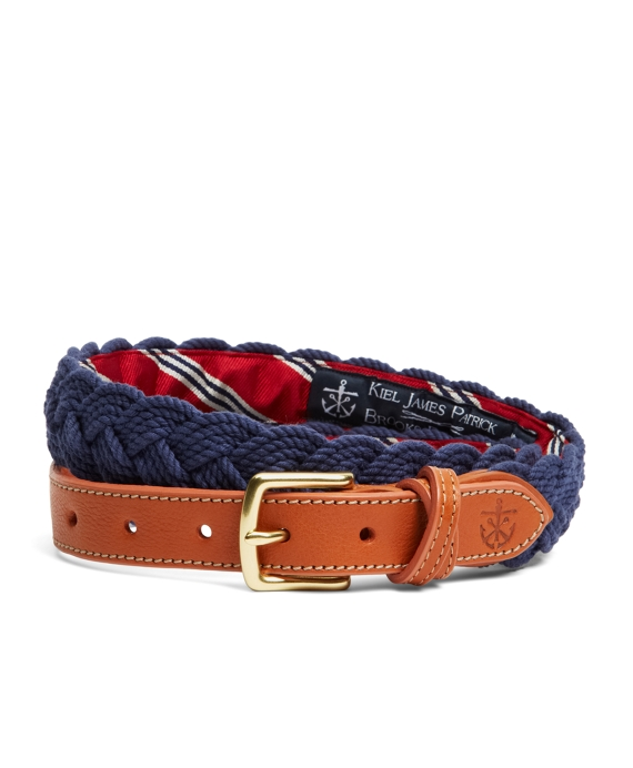 Kiel James Patrick BB#1 Braided Belt Navy