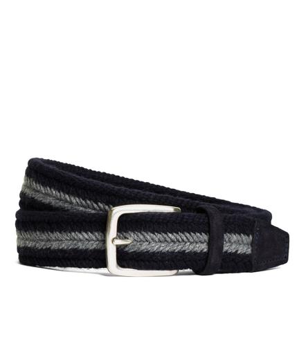 Wool Webbed Belt