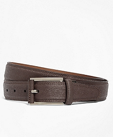 Saffiano Leather Belt