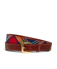 Kiel James Patrick Bright Madras Belt