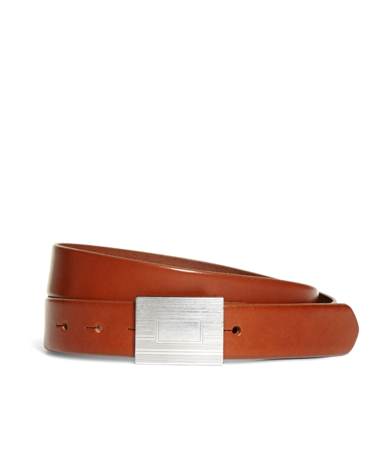 Plaque Buckle Belt
