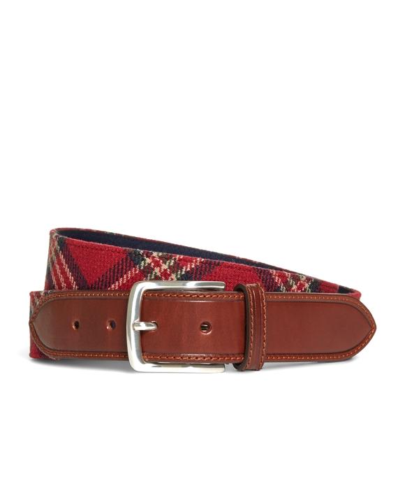 Tartan Belt Red