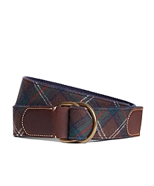 Pendleton® Plaid D-Ring Belt