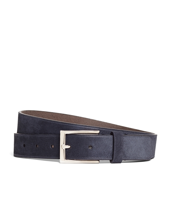 Suede Embossed Edge Belt