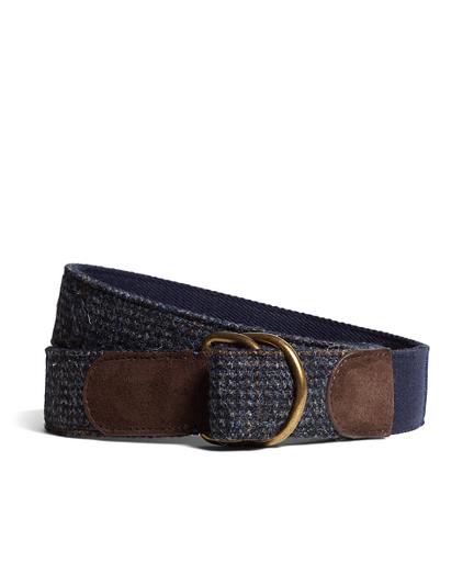 Harris Tweed  D-Ring Belt