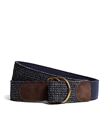 Harris Tweed  D-Ring Belt