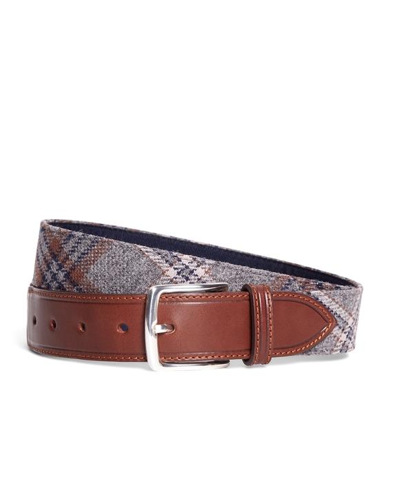 Tartan Belt Grey