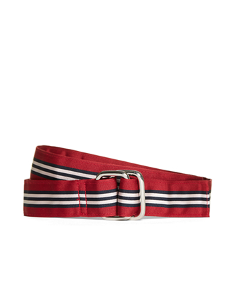 BB#1 Stripe Ribbon Belt