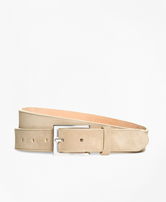 Suede Beveled Edge Belt