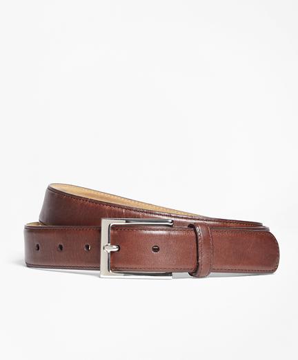 Soft Leather Dress Belt