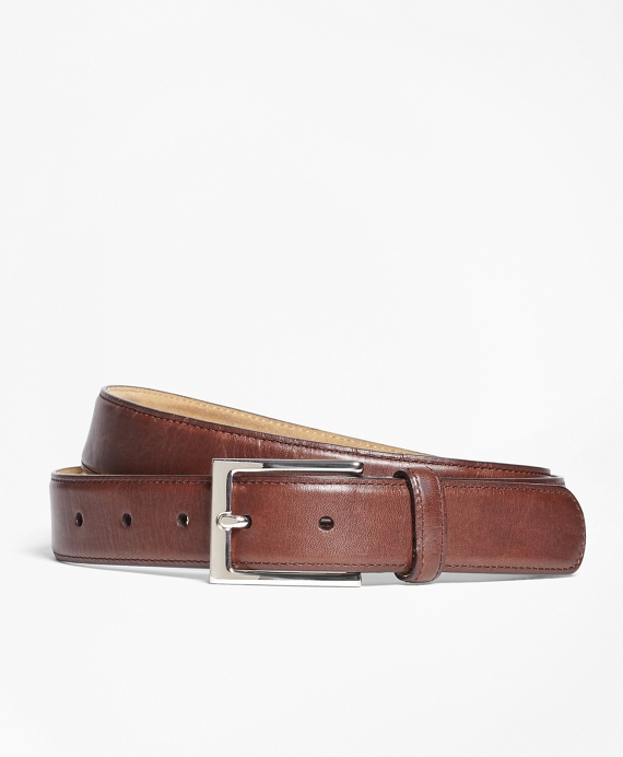 Soft Leather Dress Belt