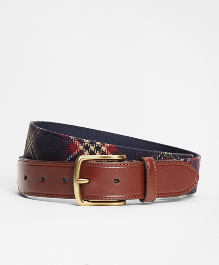 Signature Tartan Belt