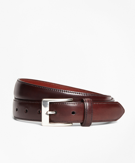 Perforated Cordovan Belt