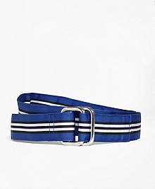 BB#1 Stripe Ribbon Belt