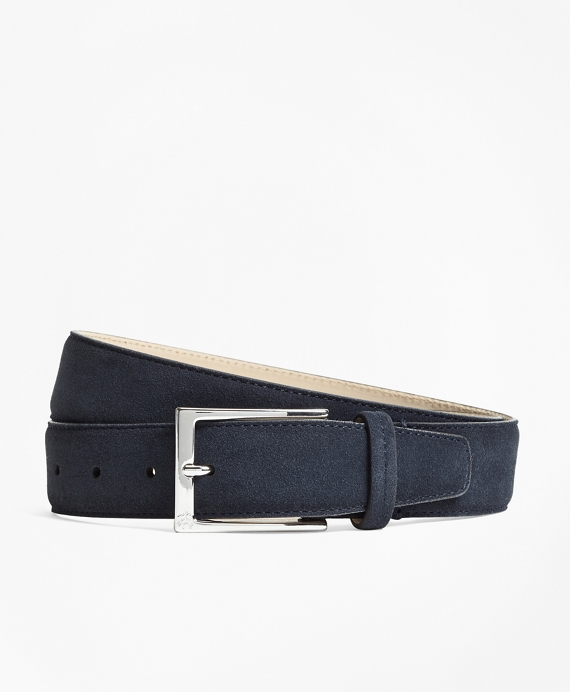 1818 Suede Belt Navy