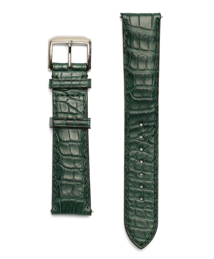 Buy 8 Alligator Watchband, see details about this diamond and more