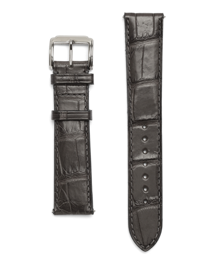 Buy 9 Alligator Watchband, see details about this diamond and more