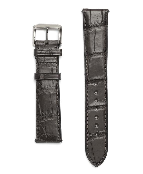 """9"""" Alligator Watchband Grey"""