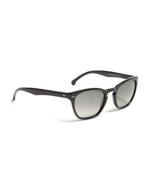 Black Square Plastic Sunglasses