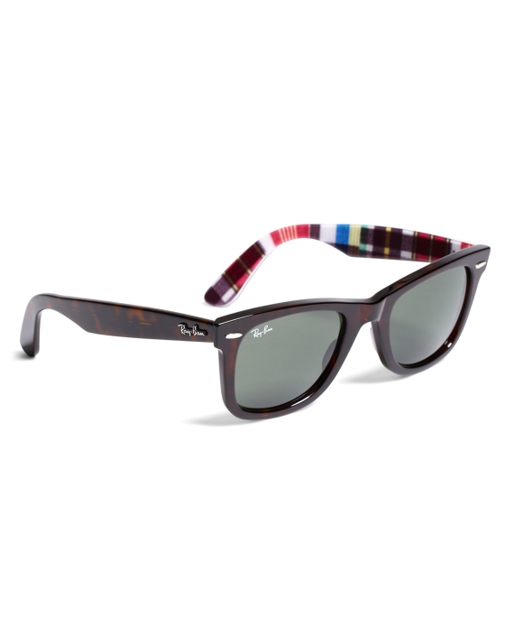 Ray-Ban® Wayfarer Sunglasses with Madras Tortoise