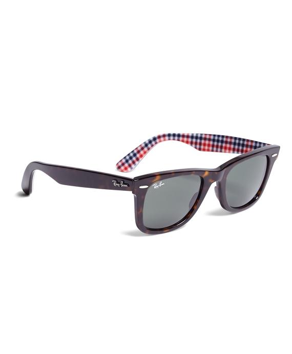 Ray-Ban® Wayfarer Sunglasses with Gingham