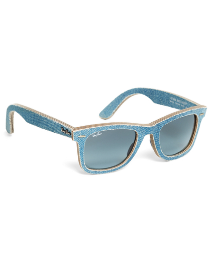 Ray-Ban® Wayfarer Light-Blue Denim Sunglasses