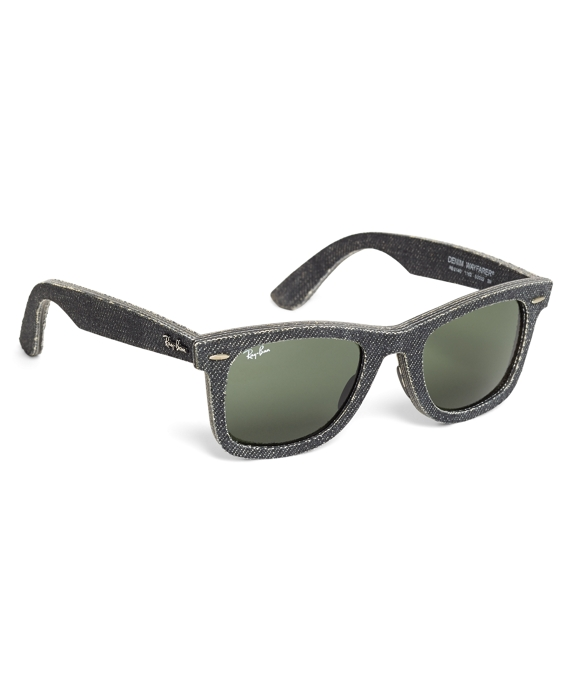 Ray-Ban® Wayfarer Black Denim Sunglasses
