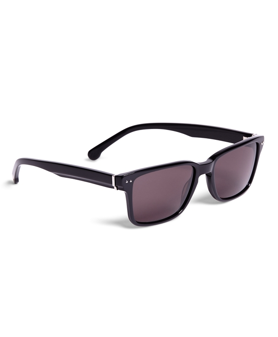 Brooks Brothers Plastic Wayfare Sunglasses Black