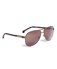 Brooks Brothers Pilot Sunglasses