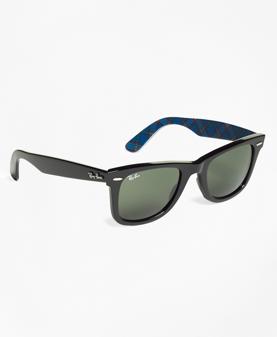 Ray-Ban® Wayfarer Sunglasses with Tartan Black