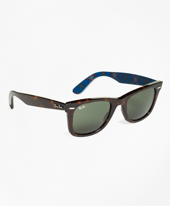Ray-Ban® Wayfarer Sunglasses with Tartan Tortoise