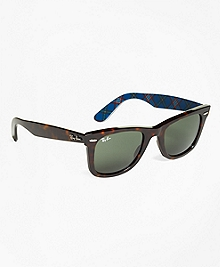 Ray-Ban® Wayfarer Sunglasses with Tartan