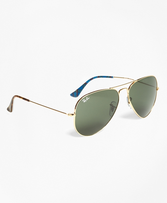 Ray-Ban® Aviator Sunglasses with Tartan