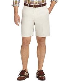 St Andrews Links Plain-Front Golf Shorts