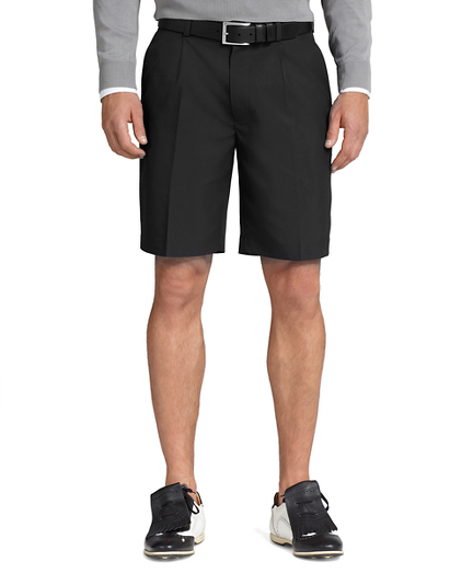 St Andrews Links Pleat-Front Shorts