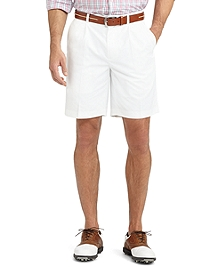 St Andrews Links Pleat-Front Golf Shorts