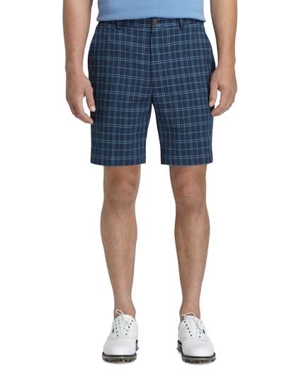 St Andrews Links Navy Golf Shorts
