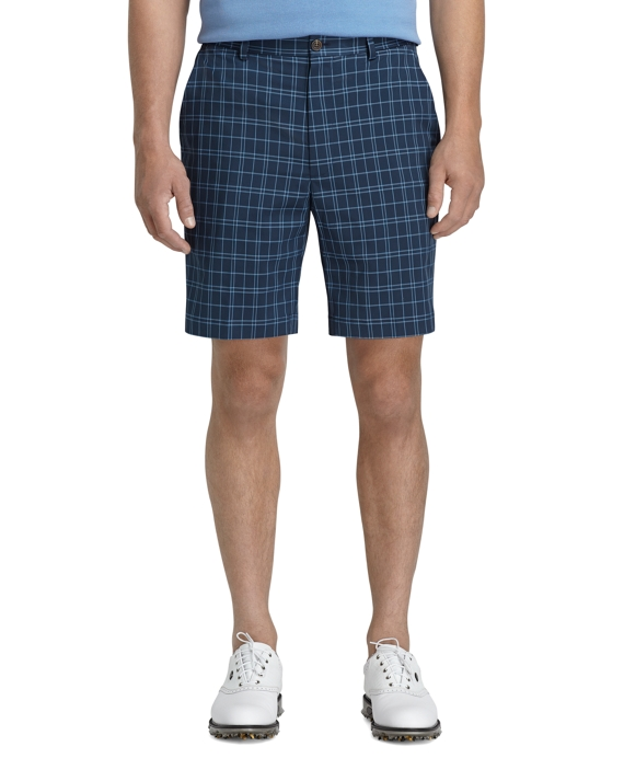 St Andrews Links Navy Golf Shorts Navy