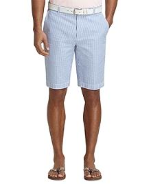 """11"""" Seersucker Bermuda Shorts"""