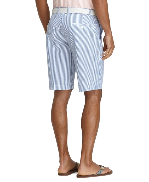 Men's 11 Inch Seersucker Bermuda Shorts