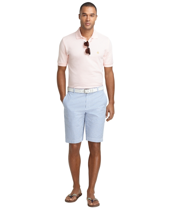 Men's 11 Inch Seersucker Bermuda Shorts