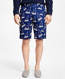 Sailboat Bermuda Shorts