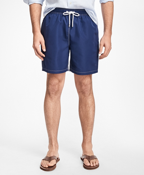 "Montauk 6"" Swim Trunks Dark Blue"