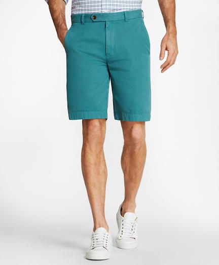 "Garment-Dyed 10"" Bermuda Shorts"